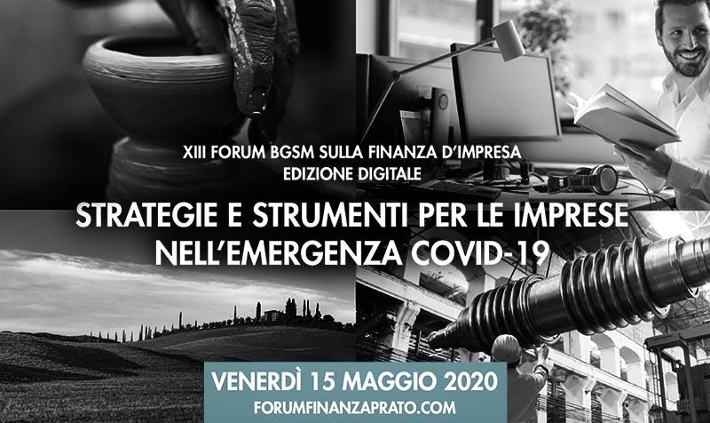 XIII FORUM BGSM SULLA FINANZA D'IMPRESA